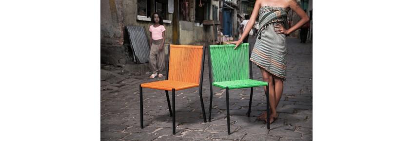 Die Stühle Tady (stapelbar)
